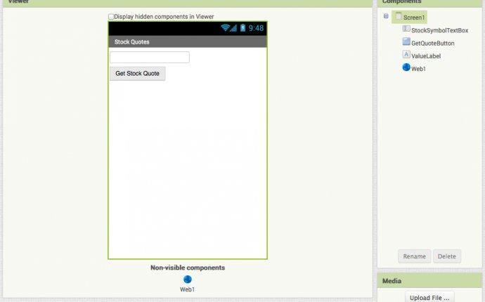 StockQuotes for App Inventor 2 | Explore MIT App Inventor