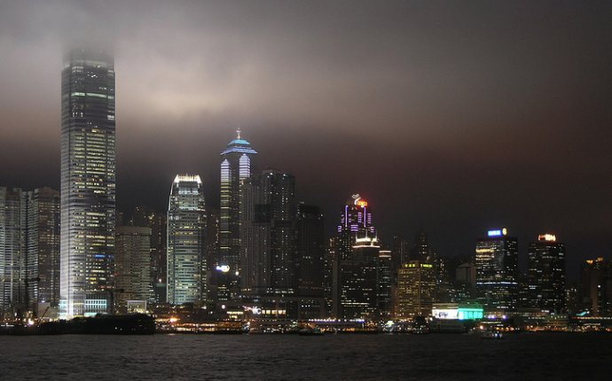 Hongkong at night (1