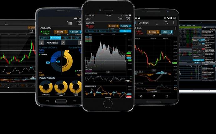 CMC Markets mobile app